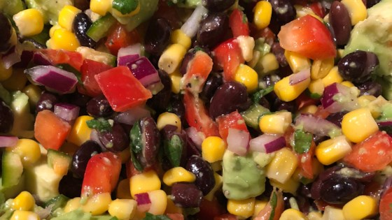 Photo of Black Bean Avocado Salsa by Dawn