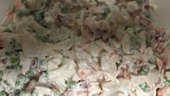 Photo of Crab and Pea Salad by Theresa
