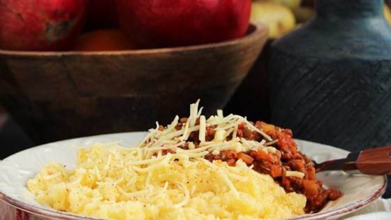 Photo of Vegan Polenta with Ragu by Buckwheat Queen