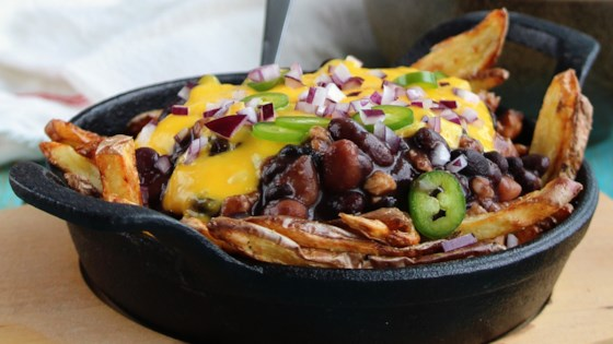 Photo of Vegan Chili Cheese Fries by Buckwheat Queen