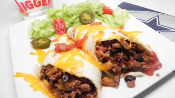 Photo of Texas Ground Turkey Burrito by PINKLADY04