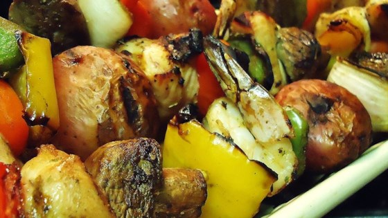 Photo of Tangy Almond Chicken Kabobs by Jessica
