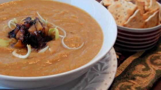 Photo of Butternut Squash Leek Soup  by shpinky