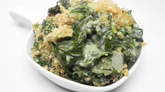 Photo of Fresh Spinach Gratin by Soup Loving Nicole