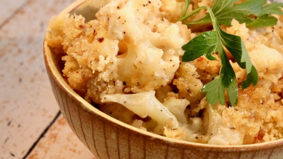Photo of Creamed Baked Cauliflower  by BUNKYDARL