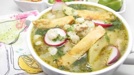 Instant Pot® Chicken Posole Verde Recipe
