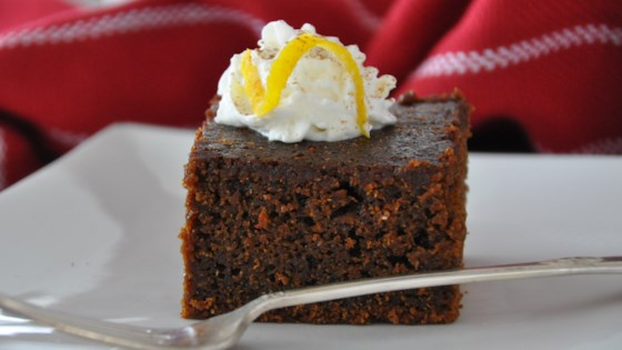 Photo of Dark Gingerbread with Maple Whipped Cream by TerryWilson