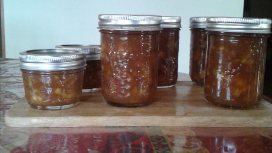 Photo of Fresh Spiced Peach Jam by MISSKD2