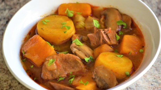 Photo of Beef and Sweet Potato Stew  by Daria King