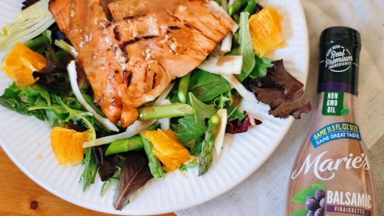 Photo of Orange Balsamic Glazed Salmon by Marie's Dressings