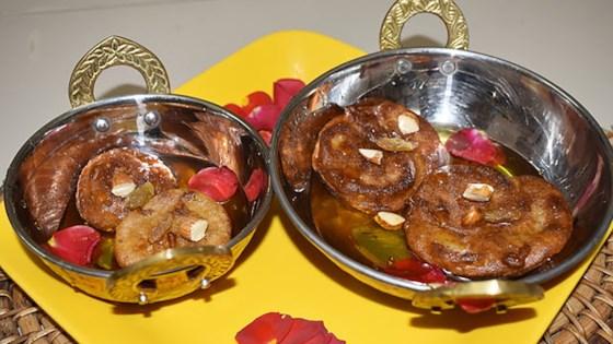 Photo of Banana Malpua (Fried Indian Pancake for Diwali) by Baisali Chef