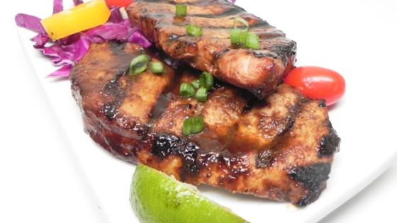 Photo of Hoisin Ginger Sesame Pork Chops by Occasional Cooker