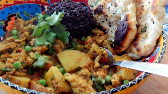Photo of Ground Turkey Kheema with Forbidden Rice by Brian