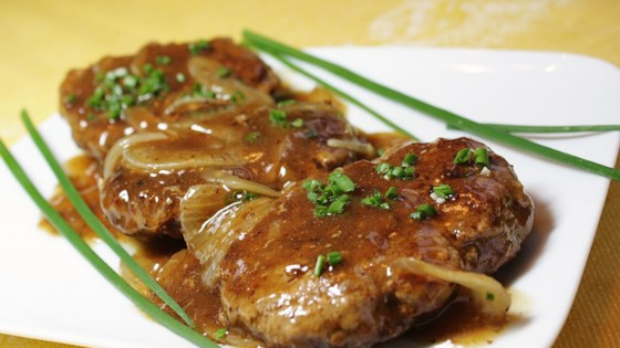 Photo of Hamburger Steak with Onions and Gravy by Anne Marie Sweden