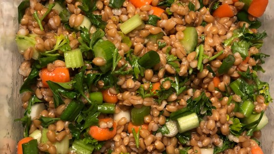 Photo of Wheat Berry Salad by honeybee75