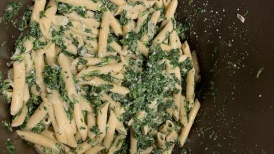 Photo of Creamy Gorgonzola Spinach Pasta by gartenfee
