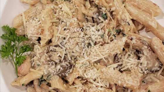 Photo of Oyster Mushroom Pasta by T.J.