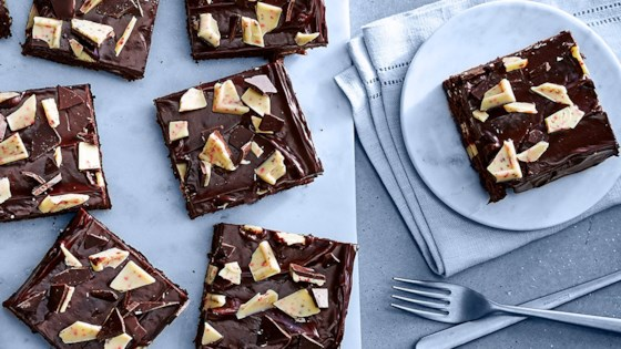 Photo of Ghirardelli Peppermint Bark Brownies by Ghirardelli