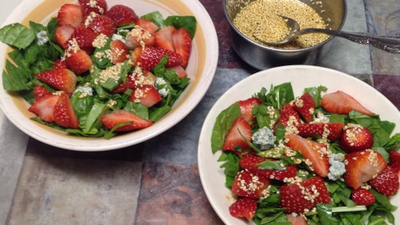 Photo of Strawberry Spinach Salad II by PEGW