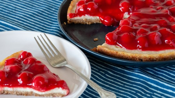 Photo of Cherry Cheezecake by Maureen Cram