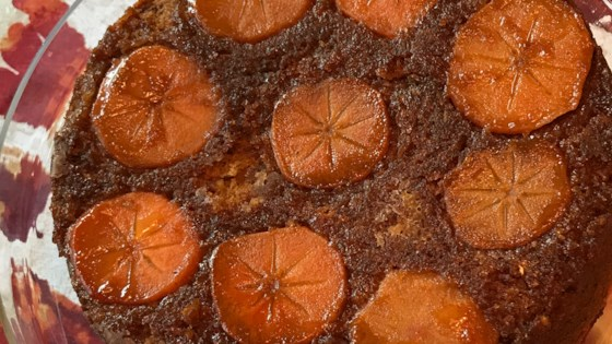 Photo of Persimmon Upside Down Cake by Jewissa