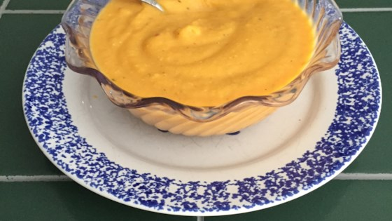 Photo of Curried Butternut Squash Soup by Marci Stohon