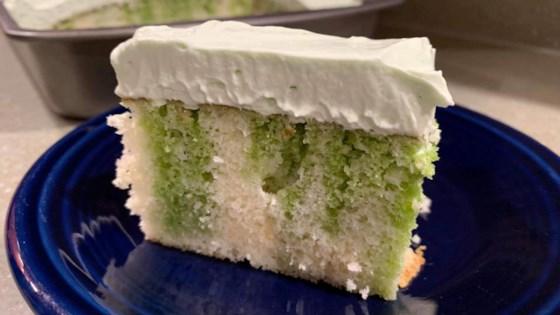 Photo of Key Lime Poke Cake by Jennifer Gibe