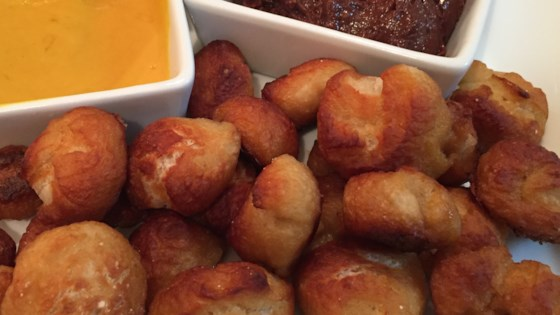 Photo of Quick and Easy Pretzel Bites with Nutella® Dipping Sauce by tcasa