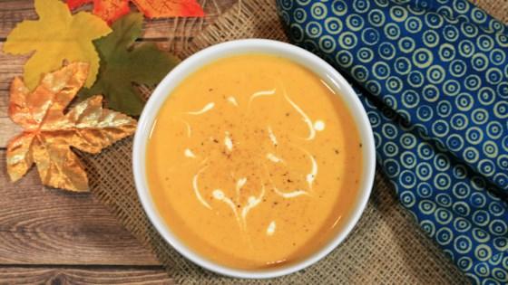 Photo of Sweet Corn and Pumpkin Bisque  by CRACKITEEJONES