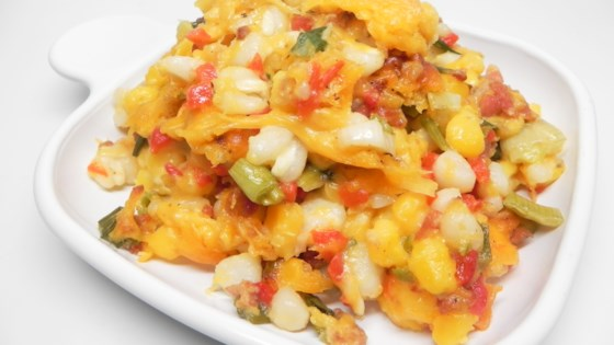 Photo of Old School Hominy Casserole by Janee'