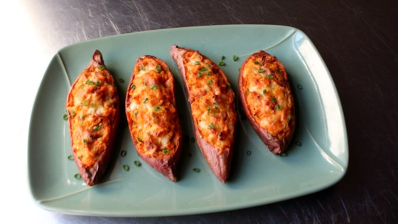 Photo of Loaded Twice-Baked Sweet Potatoes by Chef John