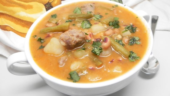 Photo of Black-Eyed Pea Bratwurst Stew by kimberly