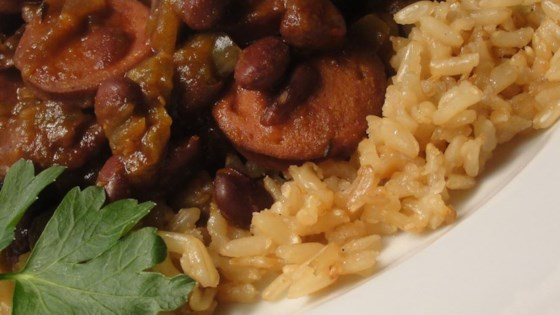 Photo of Slow Cooker Creole Black Beans and Sausage by NorCal*Mom