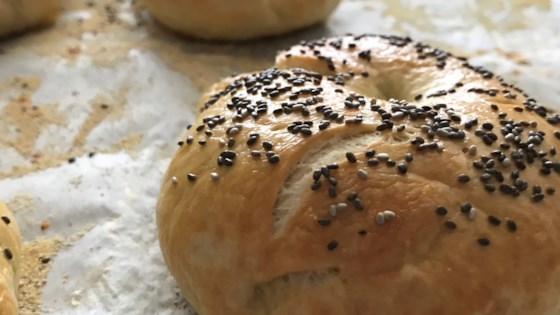 Photo of Bread Machine Bagels by Cristy Chu