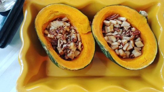 Photo of Buttercup Squash with Apples and Pecans by Volleyballmom