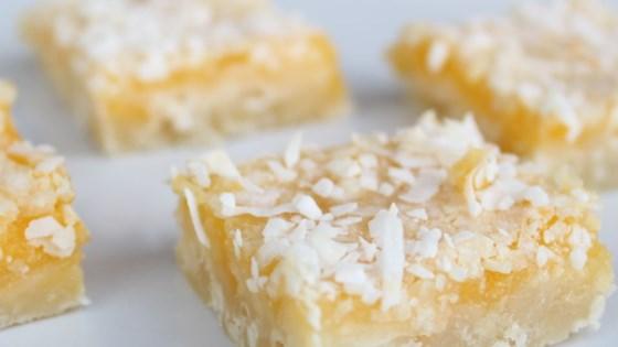 Photo of Lemon Coconut Squares by Donna  Biddle