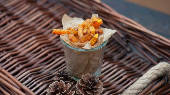 Chinese Five-Spice Air Fryer Butternut Squash Fries Recipe