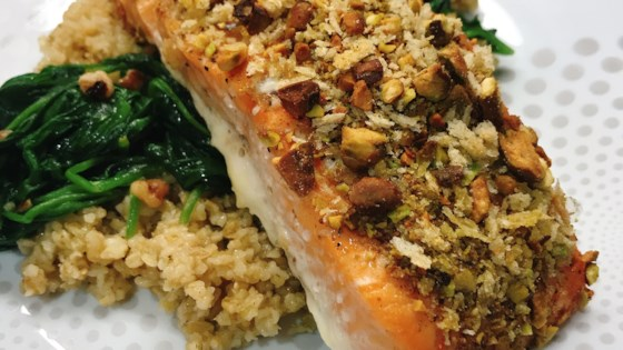 Photo of Oven-Roasted Pistachio-Crusted Salmon by thedailygourmet