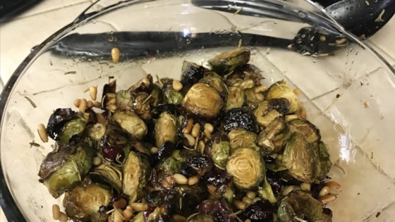 Photo of Roasted Brussels Sprouts with Balsamic Glaze by Susan Murdoch