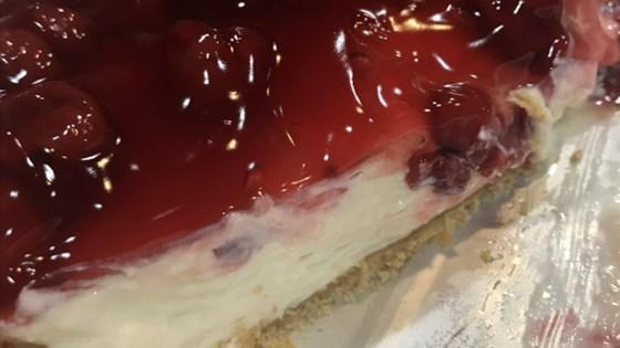 Photo of Cherry Cheesecake by L. J. Bryan