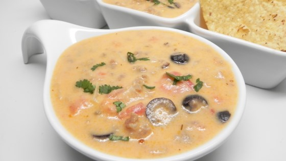 Photo of Instant Pot ® Italian-Style Sausage-Queso Dip by Soup Loving Nicole