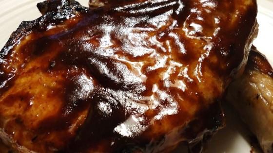 Photo of Honey Mustard BBQ Pork Chops by Jody Champion