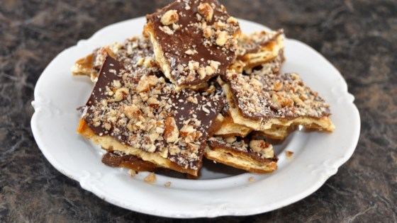 Photo of Saltine Toffee Cookies by Tracy
