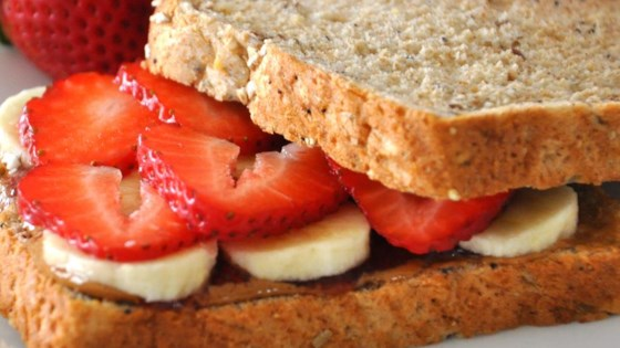 Photo of Deluxe Almond Butter Sandwiches by LaVerne