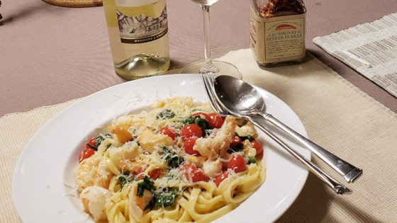 Photo of Shrimp Scampi with Linguini by janiceliv