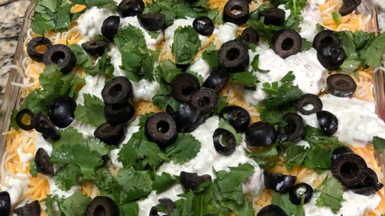 Photo of Yummy Taco Salad Dip by JWEARY15