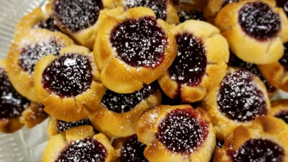 Photo of Jam Filled Thumbprint Cookies by Reynolds Kitchens®