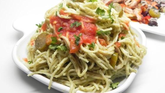 Photo of Green Spaghetti  by Elizabeth