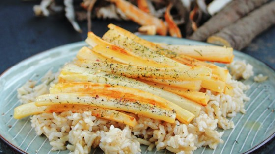 Photo of Pan-Roasted Salsify by Buckwheat Queen