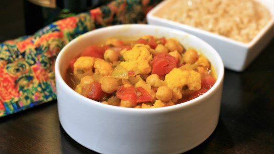Photo of Chickpea and Cauliflower Stew by Valerie Bacerott